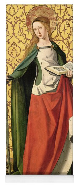 St. Catherine Of Alexandria Yoga Mat