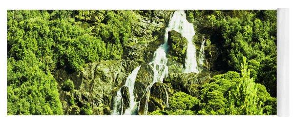 St Columba Falls Tasmania Yoga Mat