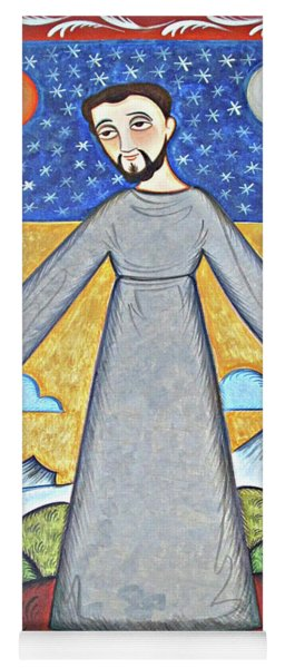 St. Francis Of Assisi - Br. Of Cosmos - Aofbc Yoga Mat