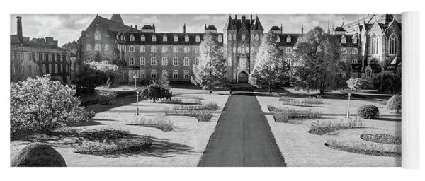 Yoga Mat featuring the photograph St Joseph's Square At Maynooth University - Kildare, Ireland by Barry O Carroll