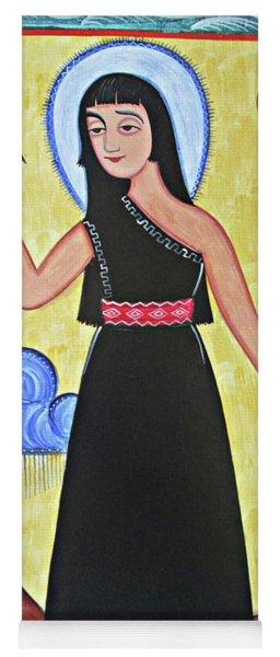 St. Kateri Tekakwitha - Aokak Yoga Mat