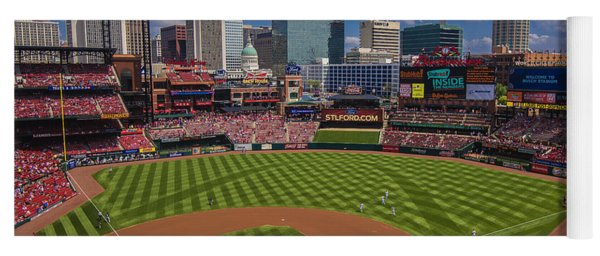 St. Louis Cardinals Busch Stadium Creative 16 Yoga Mat
