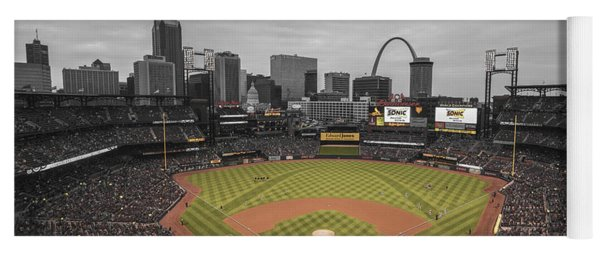 St. Louis Cardinals Busch Stadium Creative 17 Yoga Mat