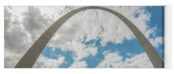 St. Louis Gateway Arch Skyline 9489 Yoga Mat