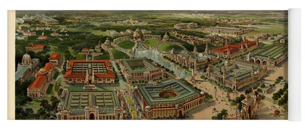 St. Louis Worlds Fair 1904 Yoga Mat