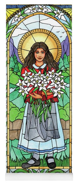 St. Maria Goretti Yoga Mat