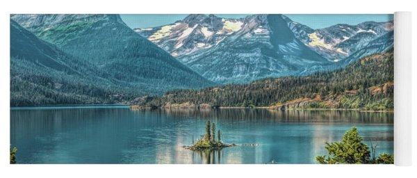 St Mary Lake Yoga Mat