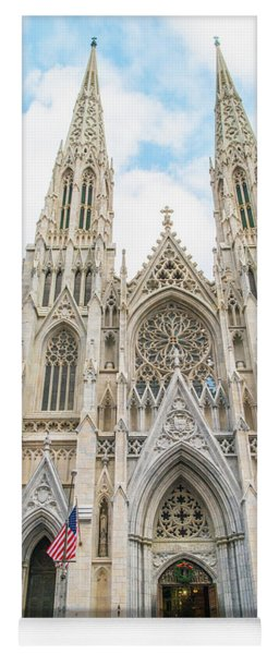 St. Patrick Cathedral In New York Yoga Mat