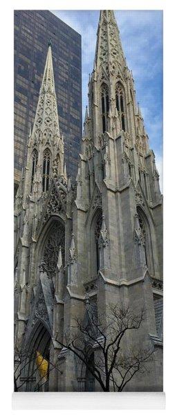 St. Patricks Cathedral Yoga Mat