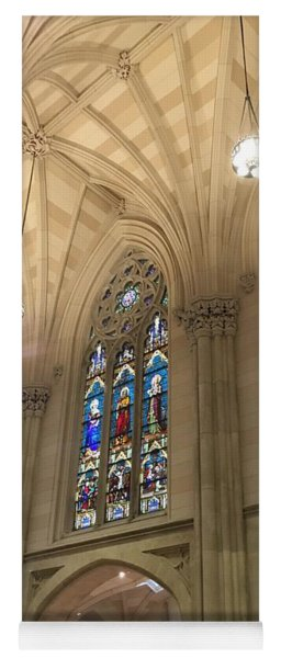 St. Patricks Cathedral Interior Yoga Mat