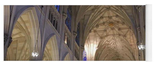 St. Patricks Cathedral Main Interior Yoga Mat
