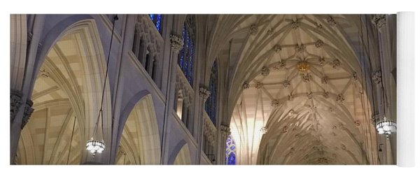 St. Patricks Cathedral Main Interior Yoga Mat