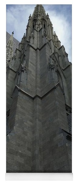 St. Patricks Cathedral Perspective Yoga Mat