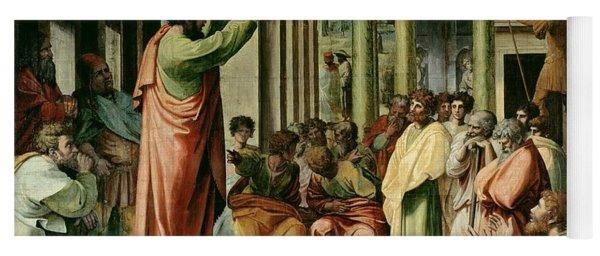 St. Paul Preaching At Athens  Yoga Mat