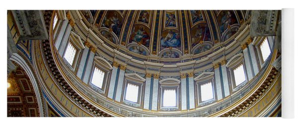 St. Peters Basilica Dome Yoga Mat