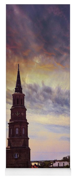 St. Philips Sky In Charleston Yoga Mat