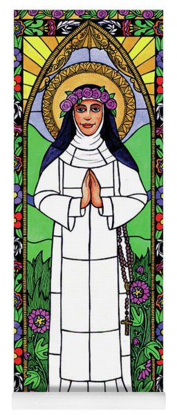 St. Rose Of Lima Yoga Mat