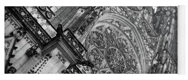 Yoga Mat featuring the photograph St. Vitus Cathedral 1 by Matthew Wolf
