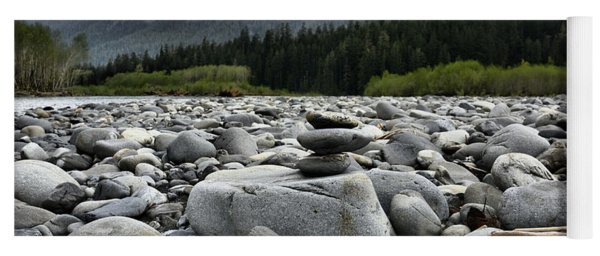 Stacked Rocks Yoga Mat