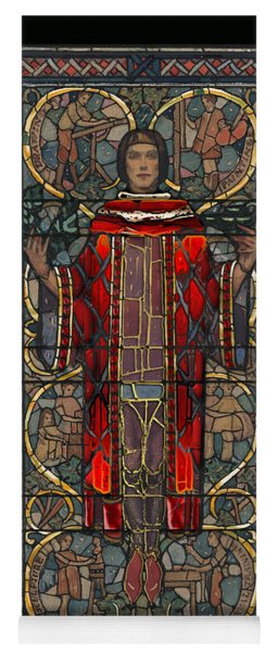 Stained Glass Window 1928 - Remastered Yoga Mat