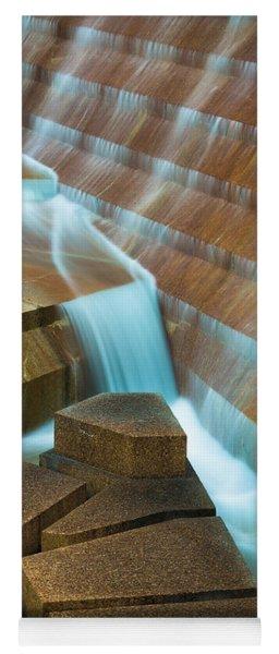 Staircase Fountain Yoga Mat