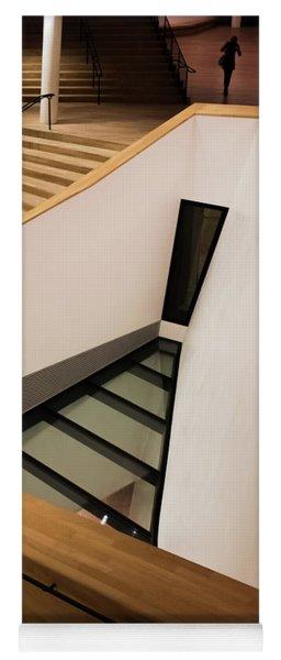 Staircase In Elbphiharmonic Yoga Mat