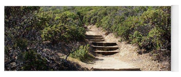 Stairway To Heaven On Mt Tamalpais Yoga Mat