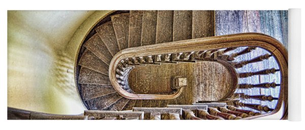 Stairway To The Past / Stairway To The Future Yoga Mat