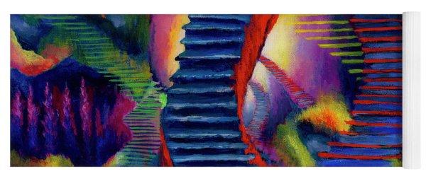 Stairways Yoga Mat