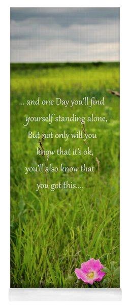 Standing Alone Yoga Mat