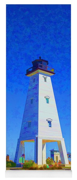 Standing Proud Lighthouse Yoga Mat