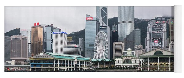 Star Ferry Building Terminal In The Central Business District Of Yoga Mat