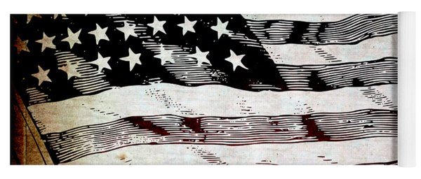 Star Spangled Banner Yoga Mat