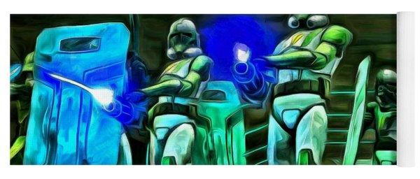 Star Wars Clone Trooper Yoga Mat
