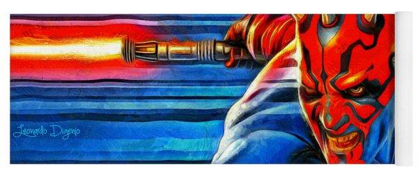 Star Wars Darth Maul Yoga Mat