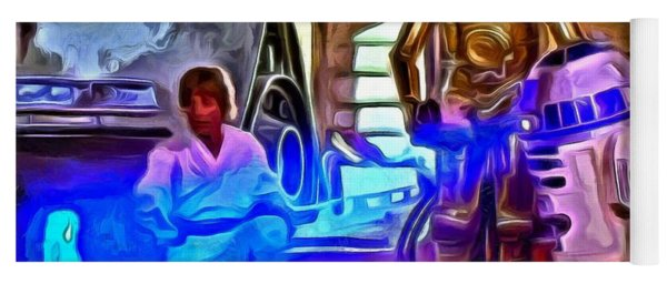 Star Wars Hologram Yoga Mat