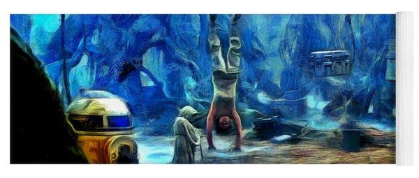 Star Wars Training Body And Mind Yoga Mat