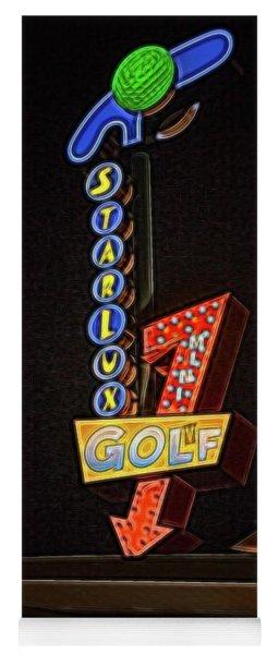 Starlux Miniature Golf Yoga Mat