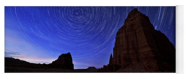 Stars Above The Moon Yoga Mat