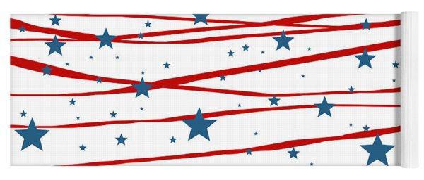 Stars And Stripes Yoga Mat