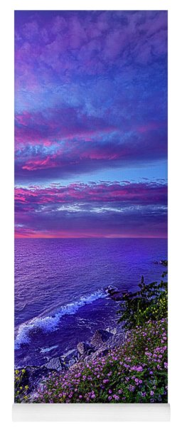 Yoga Mat featuring the photograph Start Again At Your Beginnings by Phil Koch