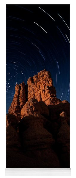 Stary Trails At Red Canyon Yoga Mat