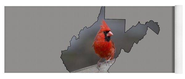 State Bird Of West Virginia Yoga Mat
