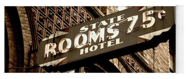 State Hotel - Seattle Yoga Mat