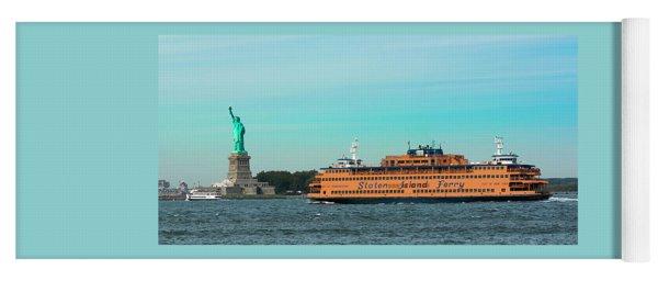 Staten Island Ferry Yoga Mat