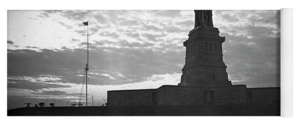 Statue Of Liberty At Sunset Yoga Mat