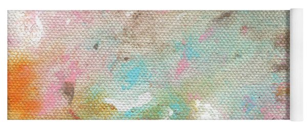 Stay- Abstract Art By Linda Woods Yoga Mat