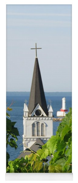 Ste. Anne's Steeple Yoga Mat