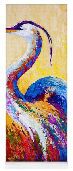 Steady Gaze - Great Blue Heron Yoga Mat