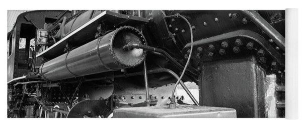 Steam Locomotive Side View Yoga Mat